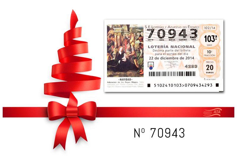 loteria Navidad ATA