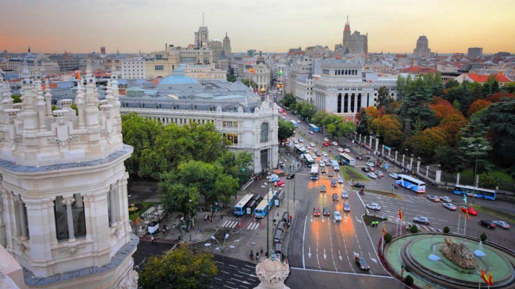 carga y descarga Madrid